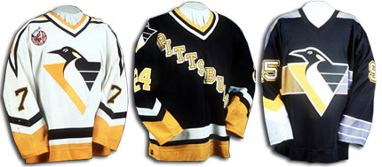quality design 863d3 dadc4 Hockeycentral | Pittsburgh Penguins | Uniform History